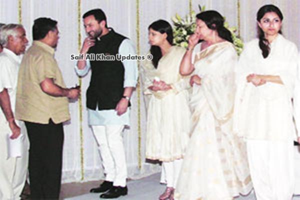 Sharmila Tagore | Saif Ali Khan Updates